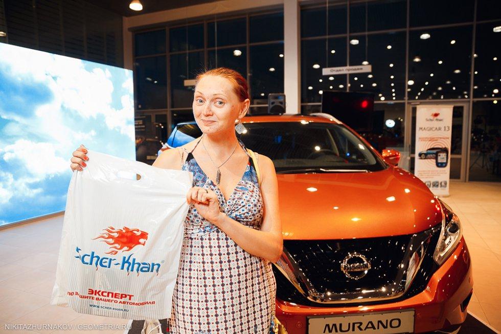 SCHER-KHAN на презентации Nissan Murano в Екатеринбурге
